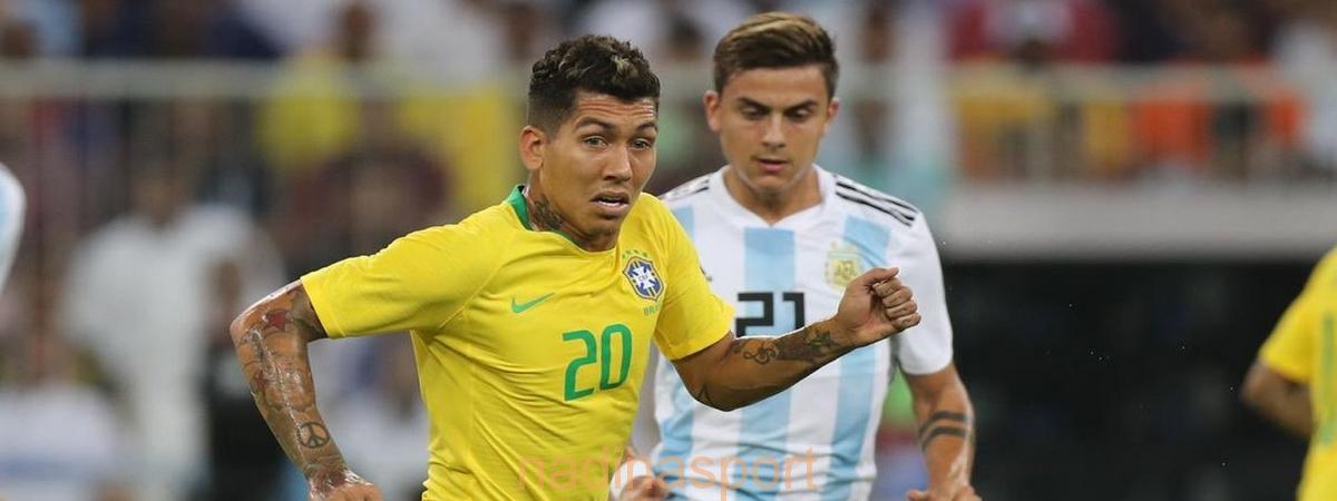 """لاعبو البرازيل والأرجنتين يشيدون بأجواء بطولة """"سوبر كلاسيكو"""""""