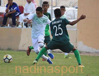 فوز الهلال والنصر والفتح واللواء والاتحاد في الجولة الثامنة من دوري البراعم تحت 15 عامًا