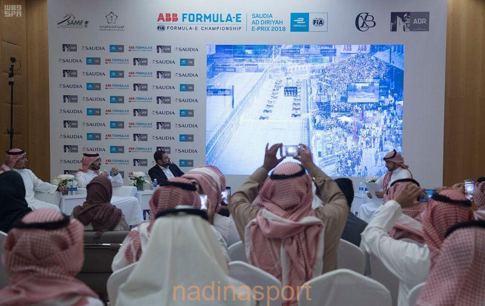 """""""السعوديّة للفورمولا إي – الدرعية 2018"""" تكشف عن مضمار سباق الدرعية"""