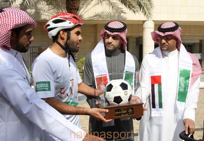 الرحالة اليحيا ينطلق إلى أبو ظبي دعماً للمنتخب السعودي لكرة القدم في آسيا 2019