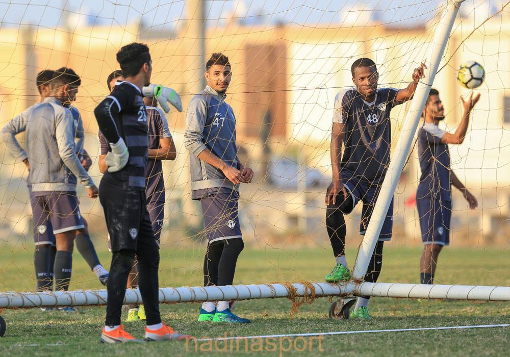 #هجر يواصل تدريباته اليومية استعداداً لمباراته المقبلة أمام الانصار
