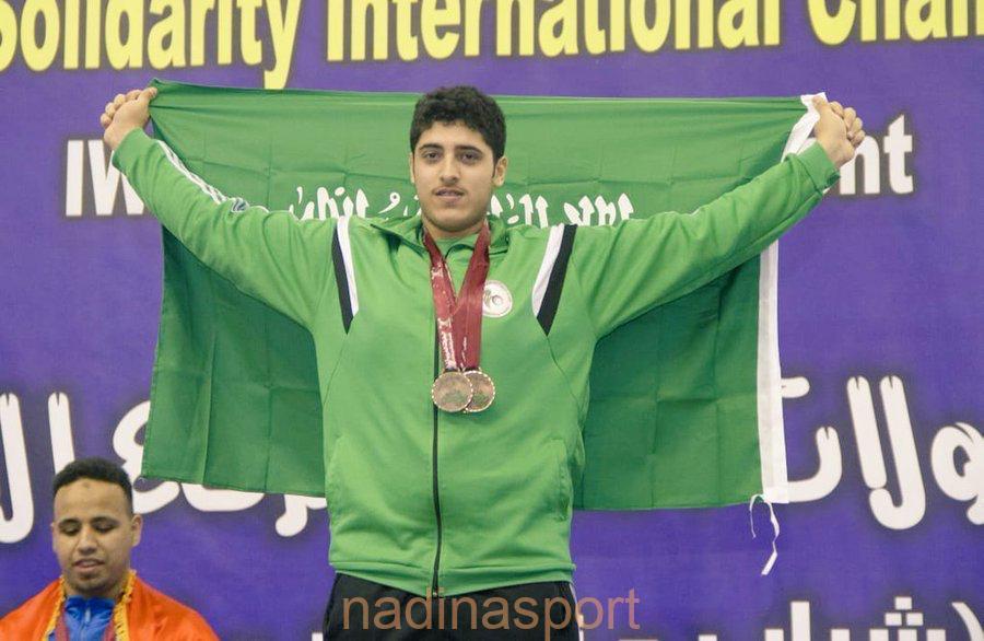 الأحمد يحقق برونزية البطولة العربية بالقاهرة