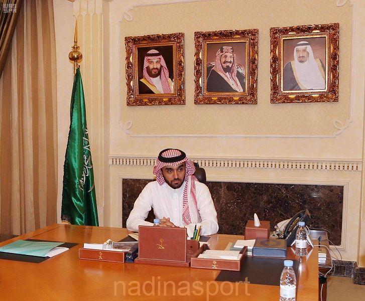 الأمير عبدالعزيز بن تركي الفيصل يعقد اجتماعاً للاطلاع على الاستعدادات الخاصة بالسوبر الإيطالي
