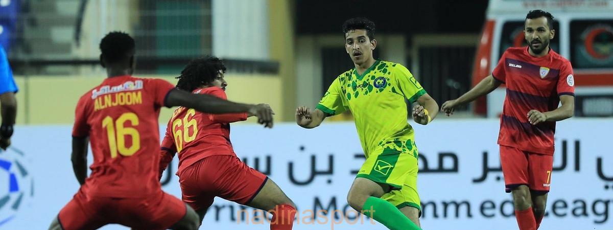 5 انتصارات في انطلاقة الجولة 20 من دوري الأمير محمد بن سلمان للدرجة الأولى