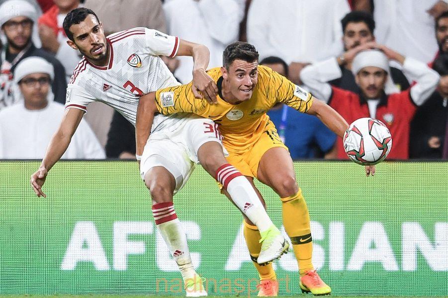 بطولة كأس أسيا 2019 لكرة القدم : الإمارات تقصي أستراليا حاملة اللقب .. وتلعب مع قطر في نصف النهائي