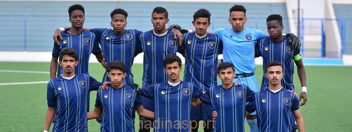 #التعاون يفوز على الروضة في ختام الجولة 13 من دوري الدرجة الأولى للناشئين تحت 17 عامًا
