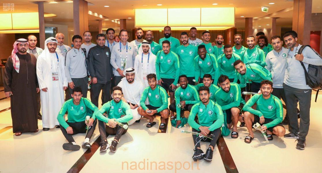 كأس آسيا : اللجنة المنظمة تحتفي بالمنتخب السعودي في أبو ظبي