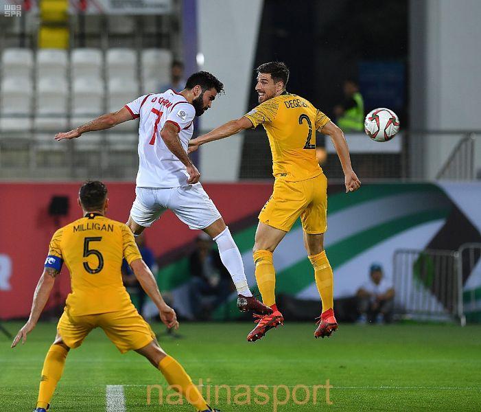 كأس آسيا 2019 : المنتخب الأسترالي يتأهل لدور الـ 16 بفوزه على منتخب سوريا 2 – 3
