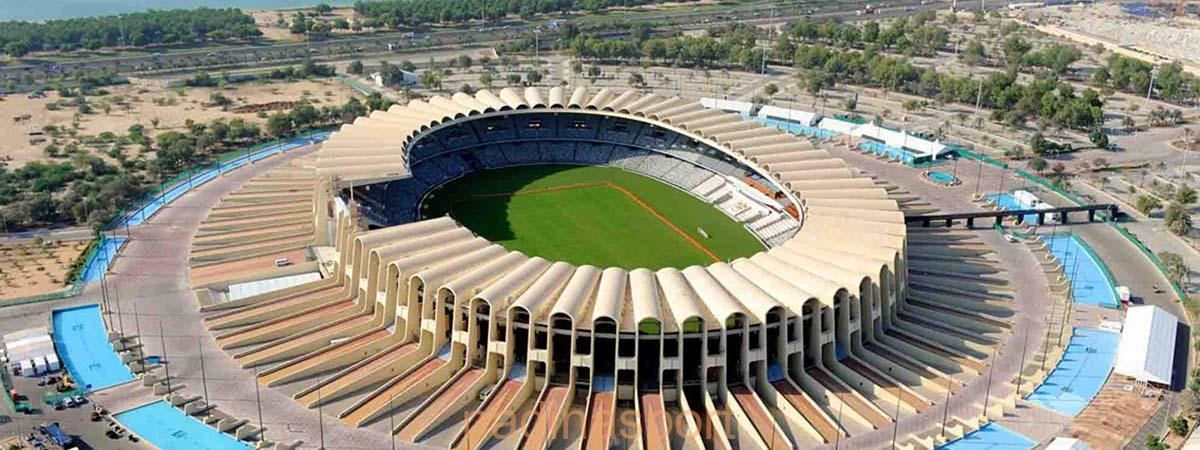 استاد مدينة زايد يحتضن ثالث مباريات الأخضر بكأس آسيا