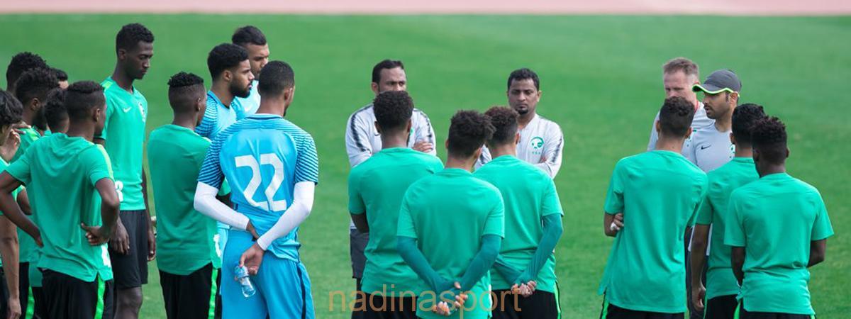المنتخب الوطني تحت 21 يستأنف تدريباته بعد الفوز على العراق