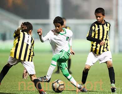 فوز الأهلي والهلال والاتفاق والفتح في الجولة التاسعة من دوري البراعم تحت 13 عامًا