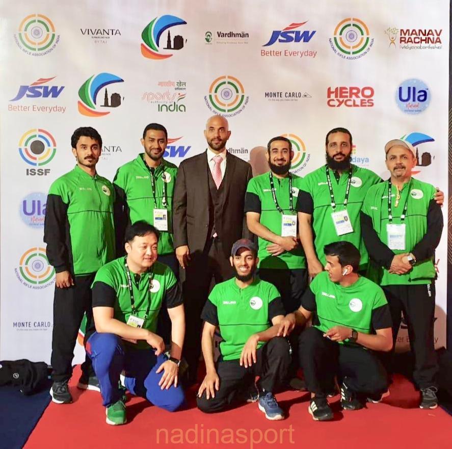 اخضر الرماية يشارك في كأس العالم في نيودلهي