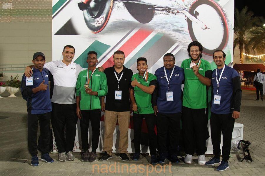 منتخب ألعاب القوى لذوي الاحتياجات الخاصة يواصل حصد الميداليات في ملتقى الشارقة الدولي