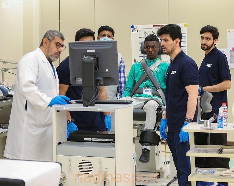 لاعبو المنتخب السعودي تحت 20 عامًا لكرة القدم يختتمون المرحلة الأولى من اختبارات القياسات البدنية