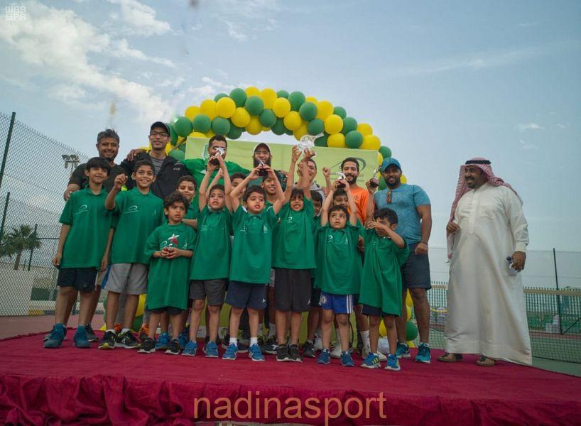 اختتام البطولة المفتوحة لبراعم التنس بالرياض والدمام