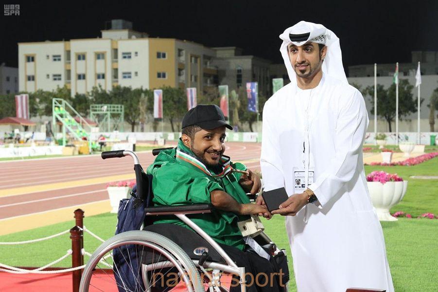 منتخب ألعاب القوى لذوي الاحتياجات الخاصة يفتتح مشاركته في ملتقى الشارقة الدولي بـ 5 ميداليات