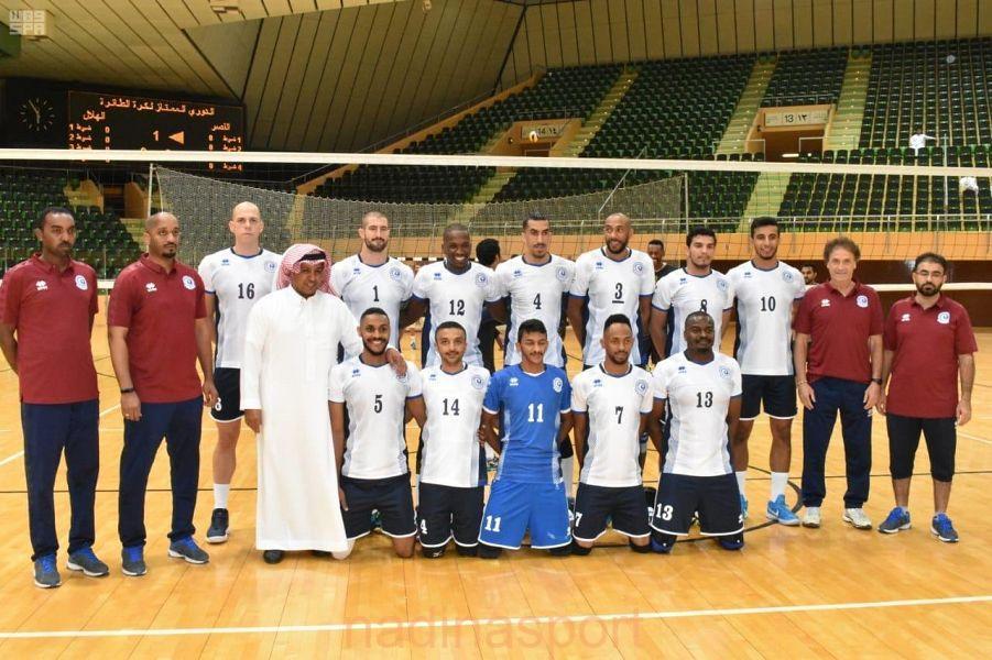 الهلال والاتحاد يستهلان مشاركتهما في البطولة العربية للكرة الطائرة غداً