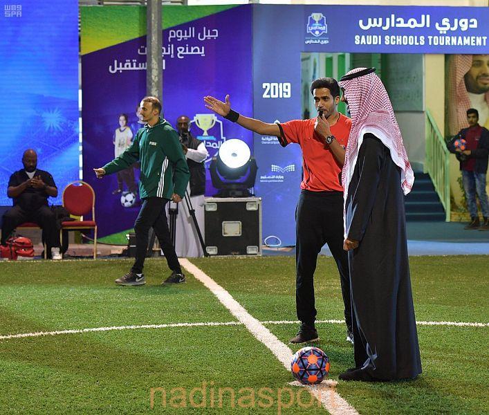 رئيس الهيئة العامة للرياضة ووزير التعليم يطلقان أكبر دوري لمدارس التعليم العام