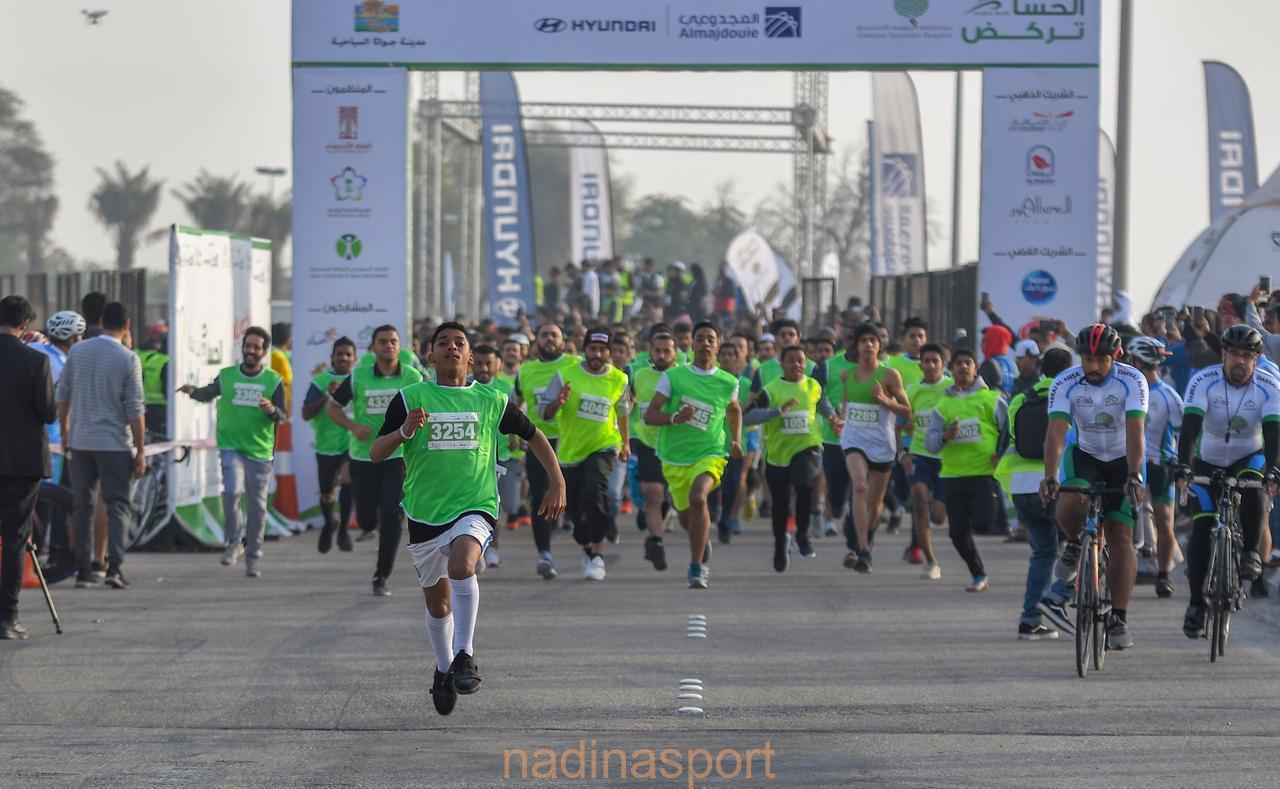 أكثر من 8000 متسابق يشاركون في أكبر حدث رياضي على مستوى المنطقة