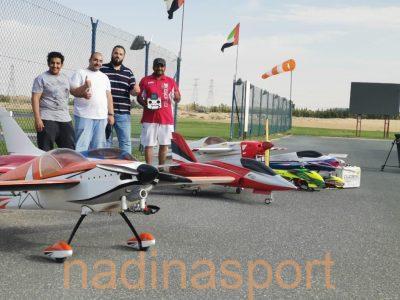 أخضر الرياضات اللاسلكية في بطولة دبي ماسترز الدولية1