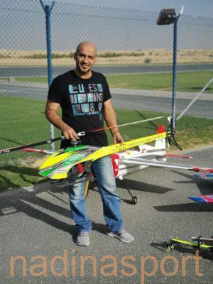 أخضر الرياضات اللاسلكية في بطولة دبي ماسترز الدولية2