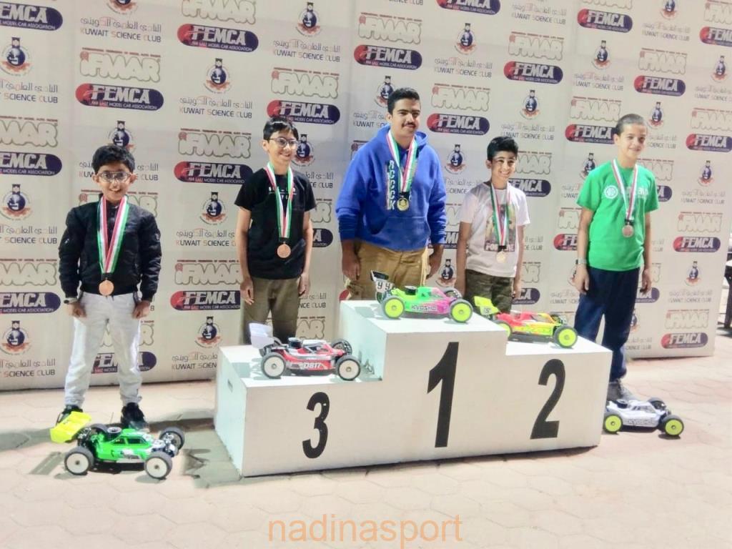 مشاركة سعودية متميزة في بطولة الكويت للسيارات اللاسلكية