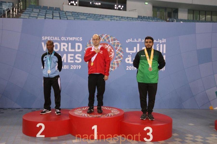 6 ميداليات للأولمبياد الخاص السعودي في ثاني أيام الألعاب العالمية بأبو ظبي