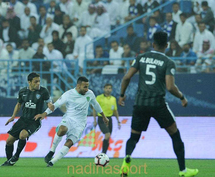 #الهلال يفوز بصعوبة على الأهلي في ذهاب الدور قبل النهائي لبطولة كأس زايد للأندية