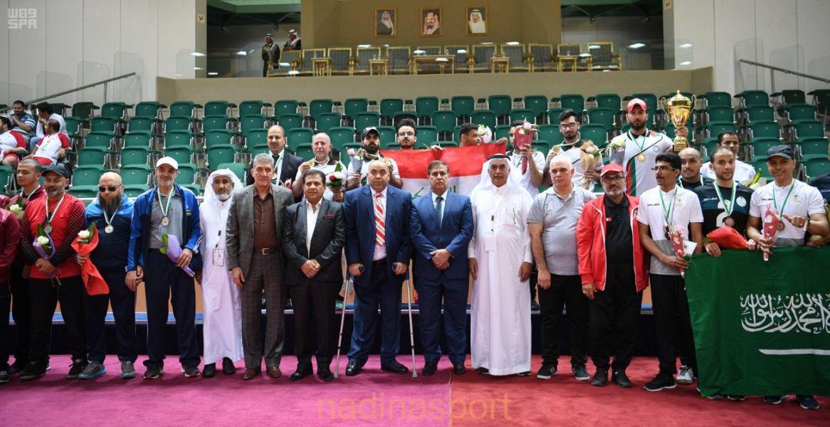 اختتام منافسات الملتقى السعودي الدولي لرياضات ذوي الإعاقة