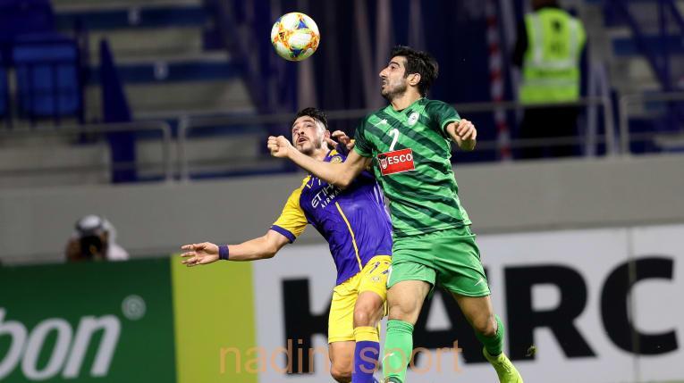 دوري ابطال اسيا المجموعة الأولى: النصر السعودي 2 – زوباهان الايراني 3