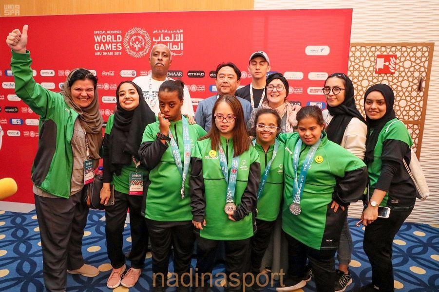 3 ميداليات للأولمبياد الخاص السعودي في انطلاق الألعاب العالمية بأبو ظبي