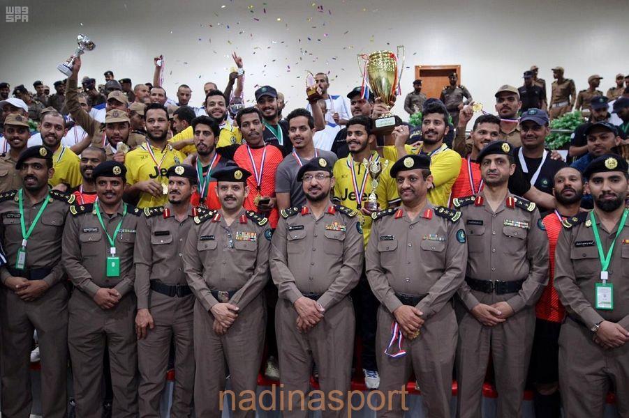 اختتام منافسات دورة الألعاب الرياضية الـ٢١ بمديرية الدفاع المدني بمنطقة المدينة المنورة