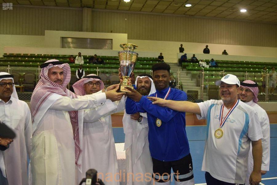 #النهضة يتوج ببطولة الدوري الممتاز لكرة السلة للناشئين