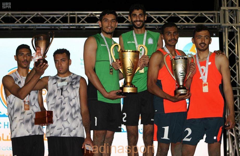 جامعة الإمام محمد بن سعود تحقق بطولة الكرة الشاطئية للجامعات
