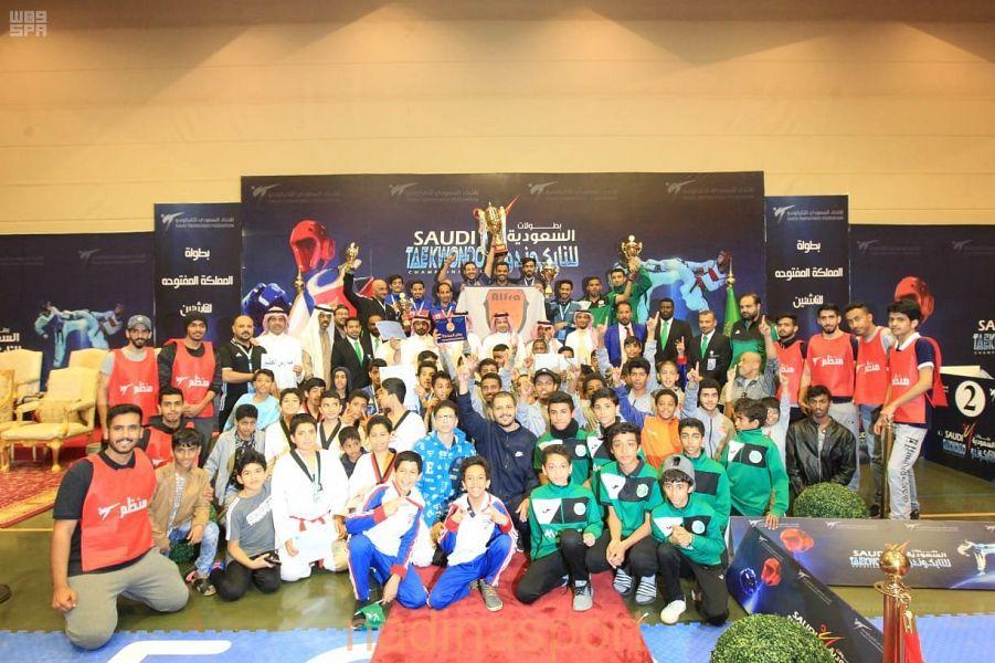 فريق الفرع يحقق بطولة المملكة المفتوحة للتايكوندو