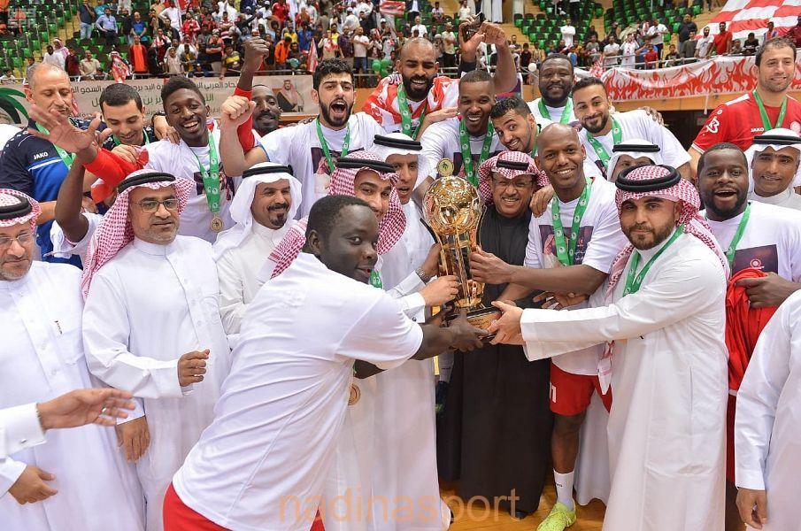 #الوحدة بطلاً لكأس الأمير سلطان بن فهد لكرة اليد