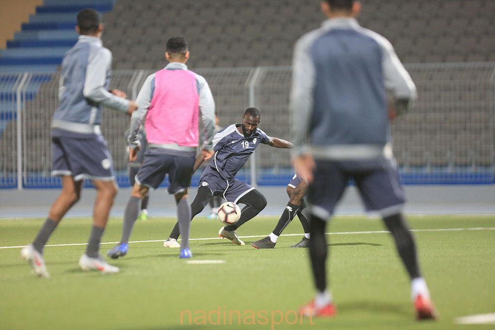 #هجر يواصل تدريباته اليومية على ملعب النادي وذلك استعداداً للمباراة المقبلة أمام جدة