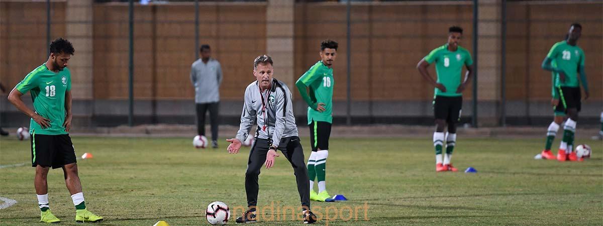 المنتخب الوطني تحت 23 عامًا يدشن تدريباته استعدادًا لتصفيات كأس آسيا