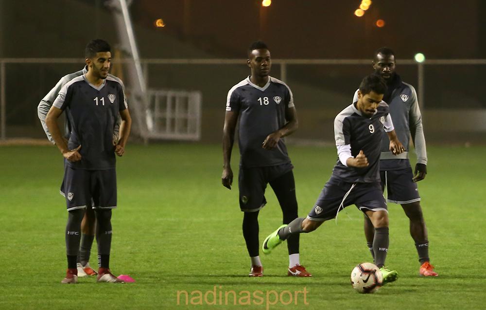 #هجر يواصل استعداداته لمباراته المقبلة أمام النهضة