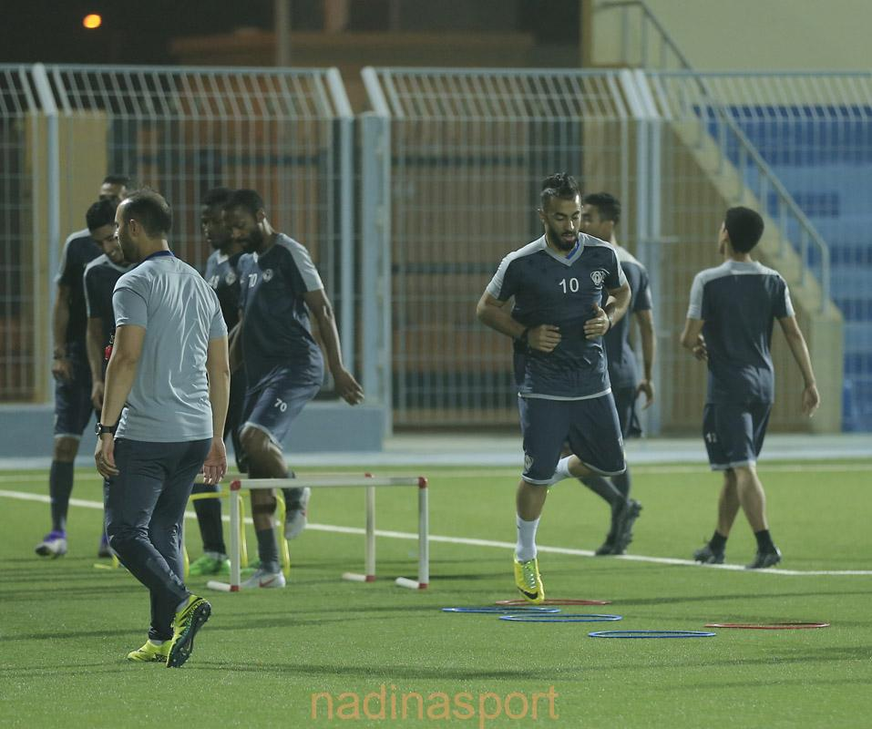 #هجر يواصل مرانه الرئيسي استعداداً لمباراته المقبلة أمام النجوم