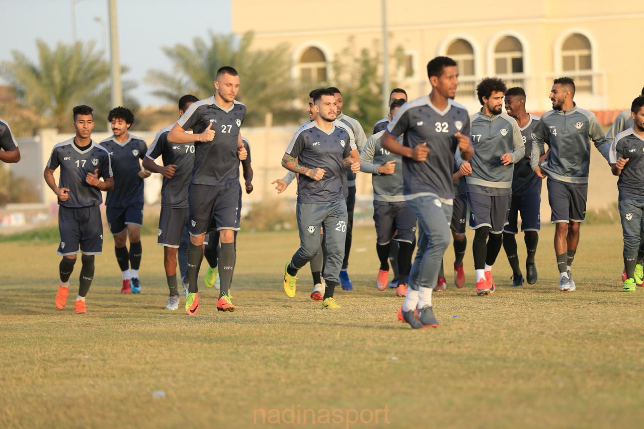 #هجر يواصل استعداداته لمباراته غداً أمام الجبلين