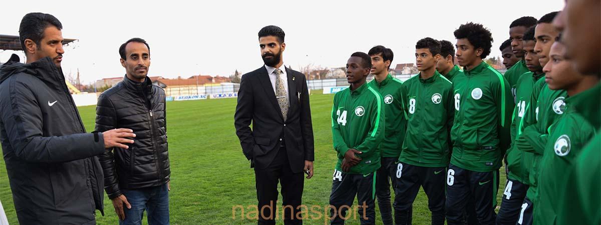 المنتخب الوطني تحت 16 عامًا يواصل استعداداته لدورة مقدونيا الدولية