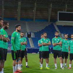 المنتخب الوطني الأول يُدشن معسكره في الرياض