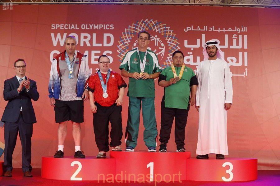 """8 ميداليات للأولمبياد الخاص السعودي خلال اليوم الثالث من الألعاب العالمية"""" أبو ظبي 2019″"""