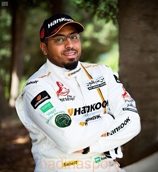 السائق السعودي سعيد الموري يشارك في بطولة الشرق الأوسط للراليات