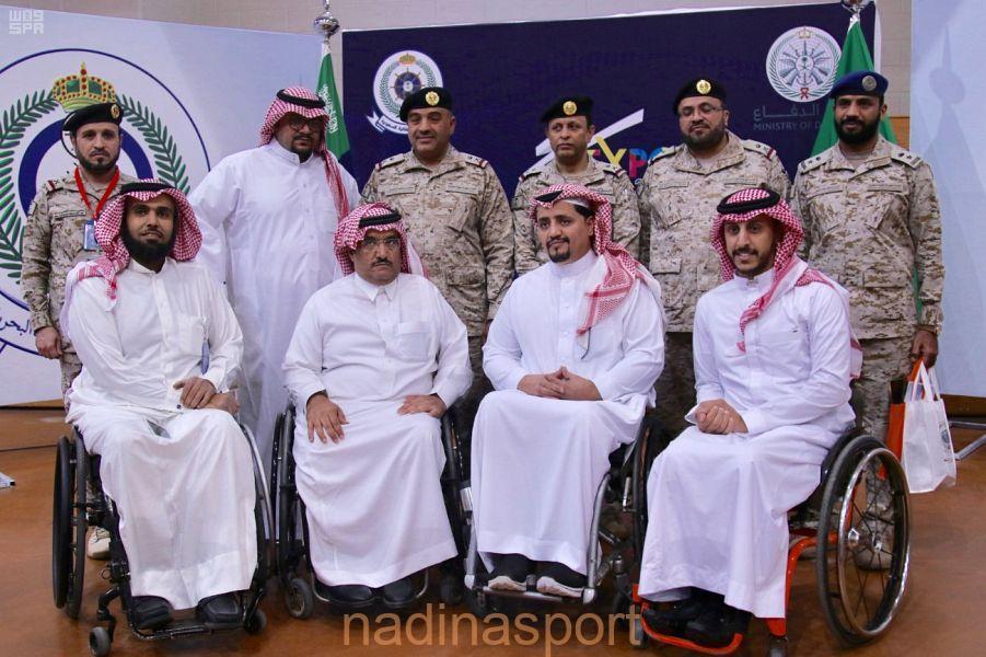 افتتاح معرض الملتقى الرياضي الأول بالقوات البحرية بمدينة الرياض