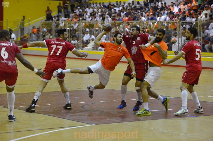 فوز مضر على الوحدة وخسارة الخليج من النور والعربي أول الهابطين لدوري الأولى لكرة اليد