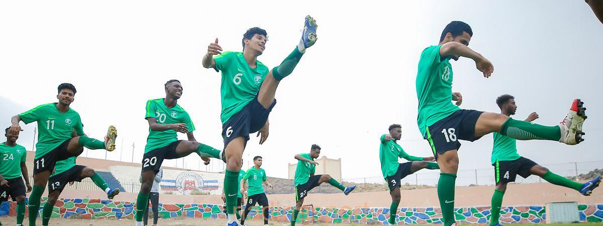 المنتخب الوطني تحت 20 عامًا يختتم معسكر أبها الجمعة