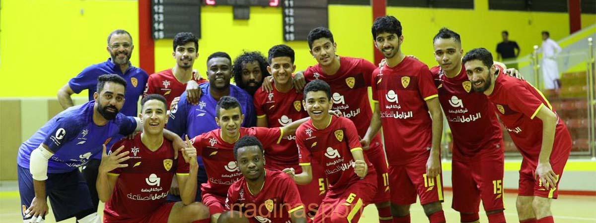 القادسية يتأهل إلى نهائي كأس الاتحاد السعودي لكرة قدم الصالات
