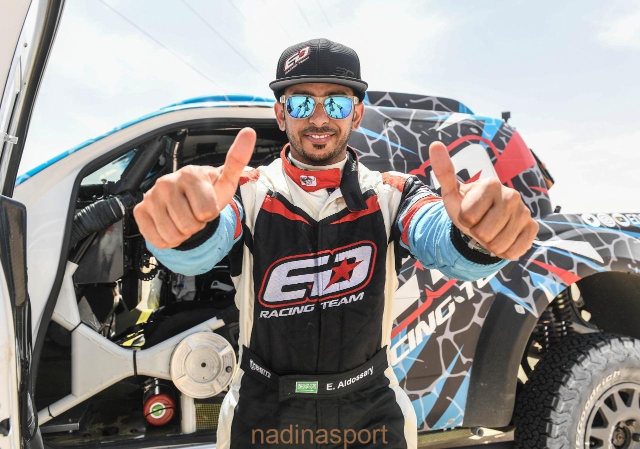 عيسى الدوسري يحقق المركز الأول خليجيًا في رالي أبوظبي الصحراوي